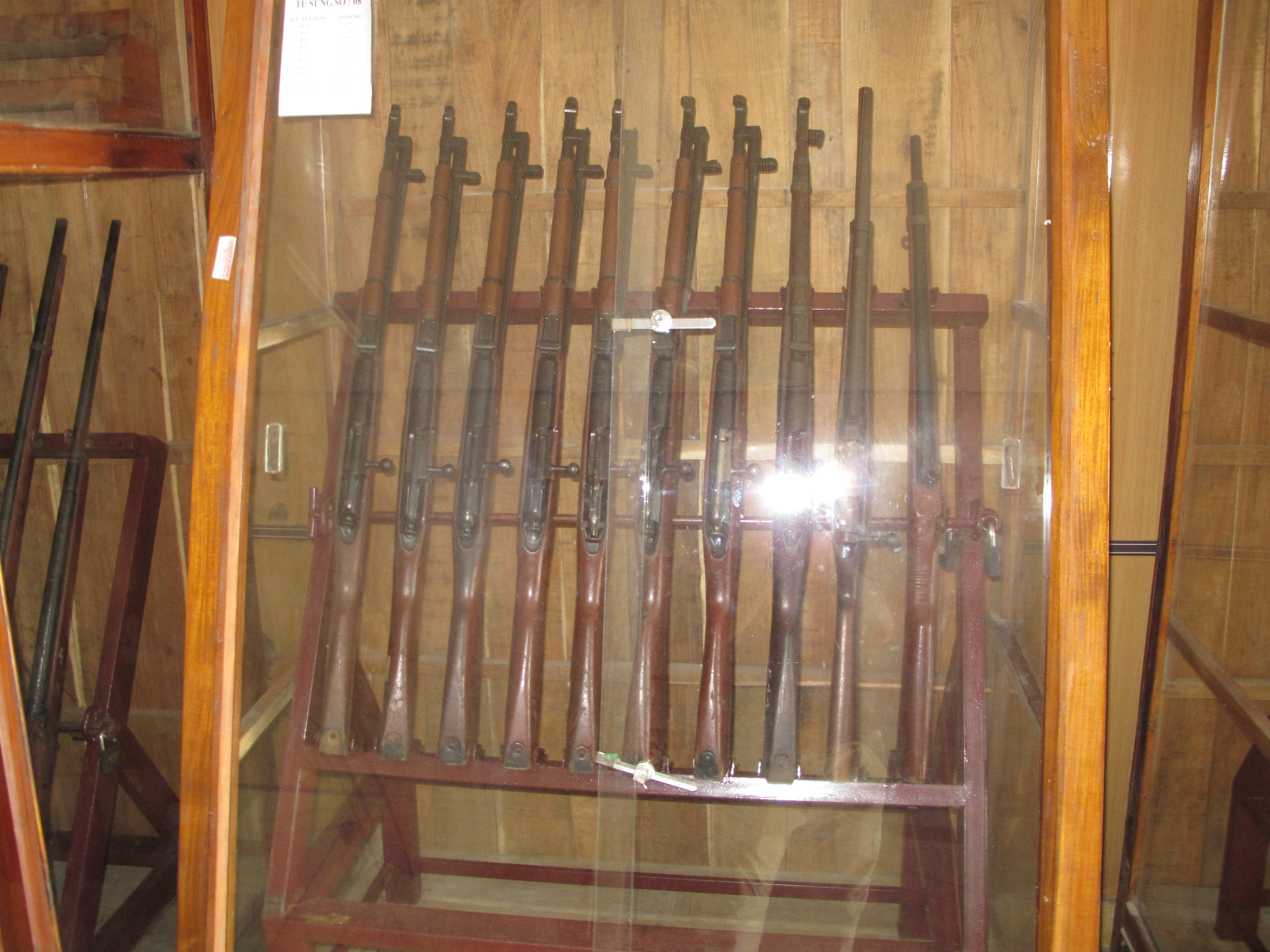 0. Mosin Collection at Cu Chi
