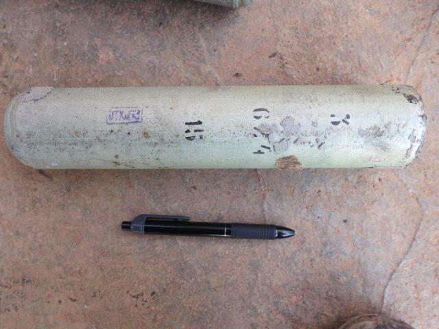 ZAB-100-105 thermite canister in Syria