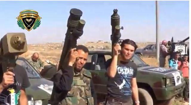 9K338 Igla-S in Syria